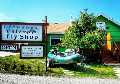 Crowsnest Cafe and Fly Shop - Home